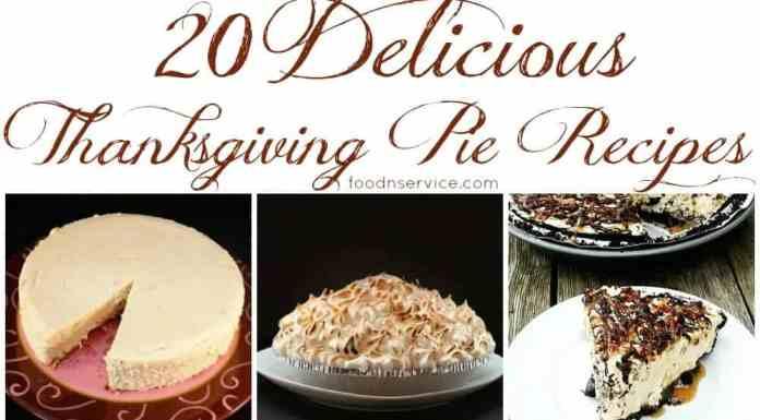 20 delicious thanksgiving pie recipes