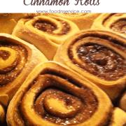 Homemade Cinnamon Roll Recipe