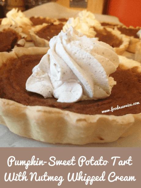 pumpkin sweet potato tart recipe dessert