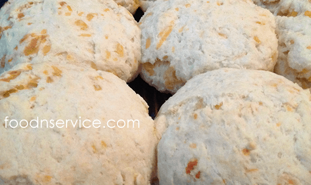 Homemade Buttermilk And Cheddar Biscuits