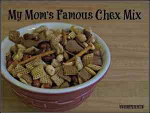 Mom's Favorite Pretzel Chex mix!
