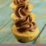 Chai Latte Mini Cupcakes