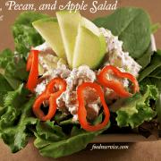 Chicken, Pecan, Apple Salad