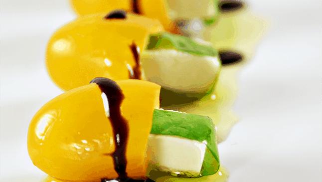 Mini Caprese Appetizers