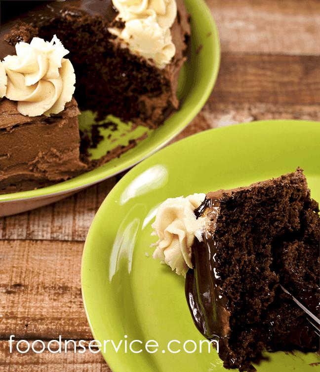 Chocolate Butterscotch Cake Food N Service