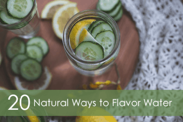 20 natural ways to flavor water