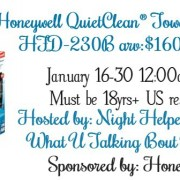 Honeywell QuietClean Tower Air Purifier Giveaway
