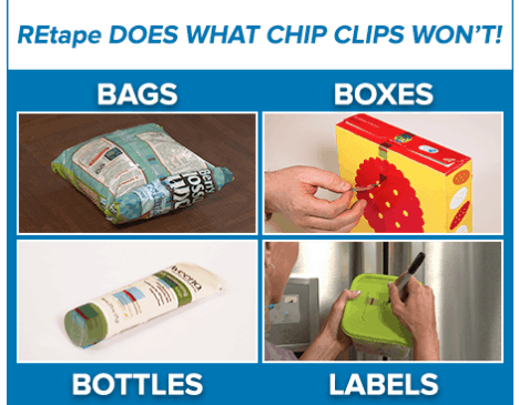 ReTape Made Me Throw Away My Bag Clips!