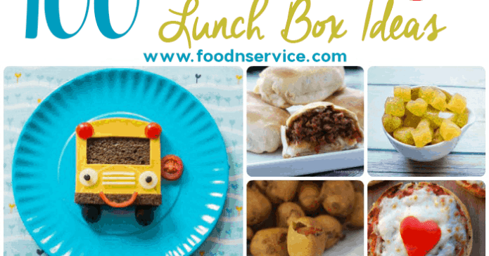 100 Amazing Lunch Box Ideas