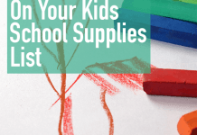 How To Save On School Supplies
