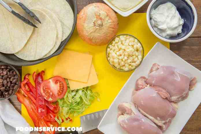 Instant Pot Chicken Enchiladas start off with delicious and fresh ingredients