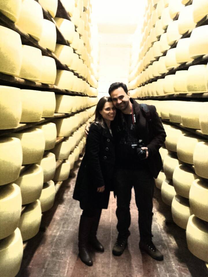 Food Tours in Parma,  with FWT.  FWT clients from Brazil 2jpg