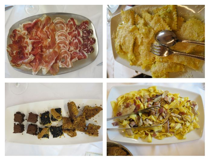 Lunch a family affair Food n Wine tours Parma platters