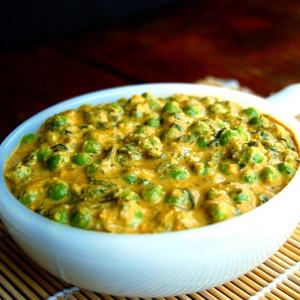 methi-mutter-malai