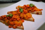 Indian Masala Toast Recipe with step by step pictures.