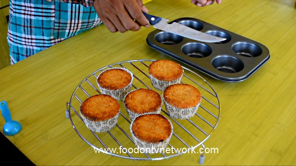 Vegetarian Cupcake Recipe. How to make Vegetarian Cupcakes.