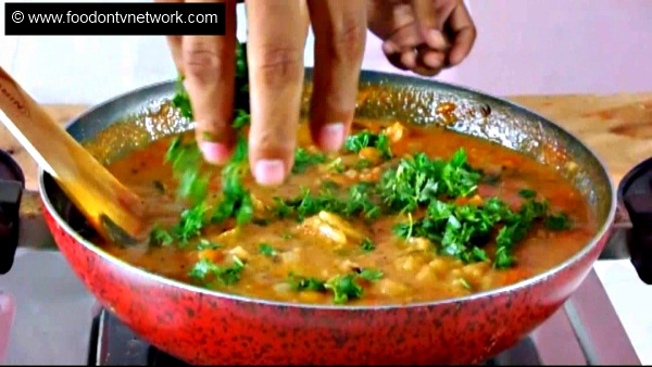 Home made Chapati Curry Soup Recipe.