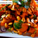 Home Made Masala Peanut Tomato Recipe.