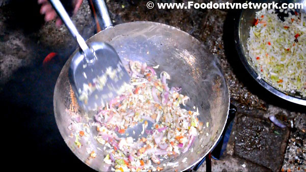Home Made Chinese Bhel Recipe.