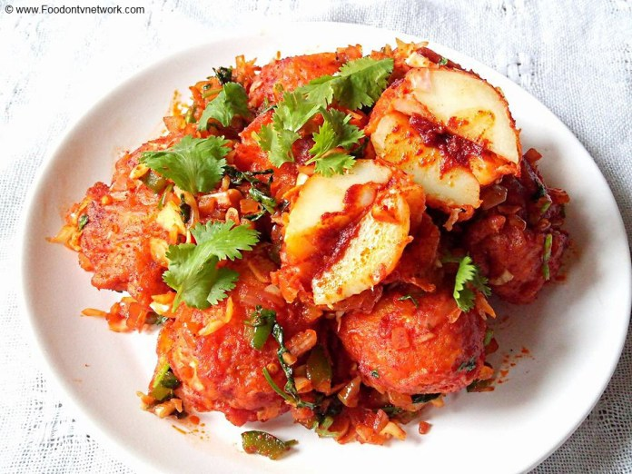 Stuffed Schezwan Aloo Recipe, Stuffed Schezwan Potato Recipe, Schezwan Potato Recipe, Bharwah Schezwan Aloo Recipe, Indo Chinese Recipe, Indian Chinese Recipe, Indian Street Food Recipe.
