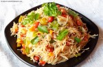 Vermicelli Upma Recipe, Sevai Upma Recipe, Semiya Upma Recipe, Upma With Sevai Recipe, How to Make Vermicelli Upma, Indian Breakfast Recipe, South Indian Cuisine.