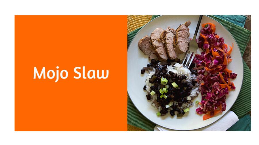 Mojo Cabbage Slaw