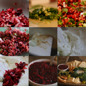 Keyed Up Cranberry Spread at a glance.