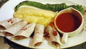 Azeri Cuisine - Chinar on the Island - Lyulya-Kebab