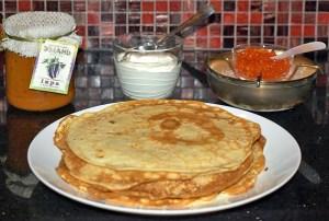 Blini and Oladi, Russian Pancakes