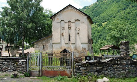 Svaneti - Nakipari Church of St. George