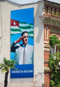 Sukhum - Vladislav Ardzinba Billboard
