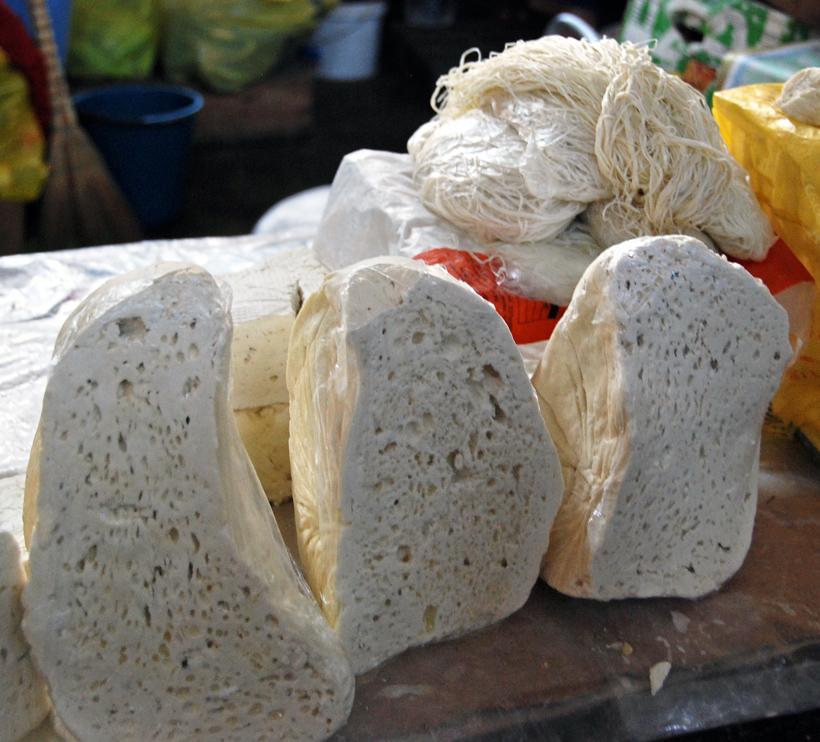 Armenia - Yerevan Market - Cheese