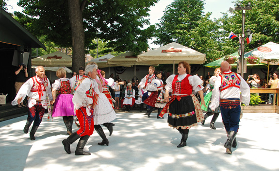 its worth mentioning the bohemian halls long history at the end of the 19th century many czech and slovaks fled austria hungary and settled in astoria - Bohemian Beer Garden