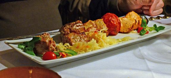 Paris restaurant report la maison g orgienne food for Classic kebab house stechford