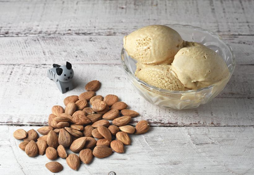 Apricot Kernel Ice Cream