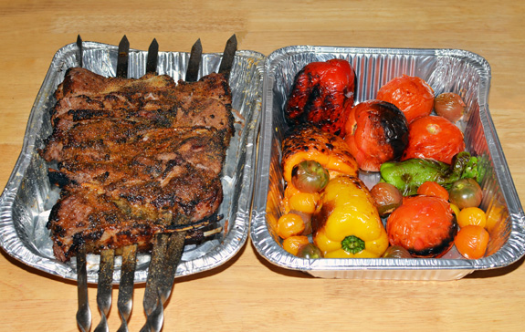 Azerbaijan Cuisine - Shashlyk Five Fingers