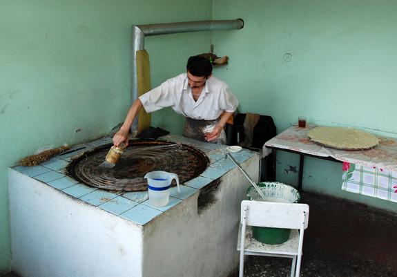 Azerbaijan Cuisine - Road to Quba - Pakhlava Shop