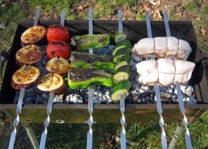 Azerbaijani Cuisine - Duck Breast Kebab