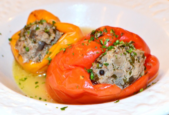 Mari Vanna - Stuffed Peppers