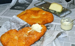 Hungarian Cuisine - Langos