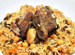 Uzbek Food - Plov