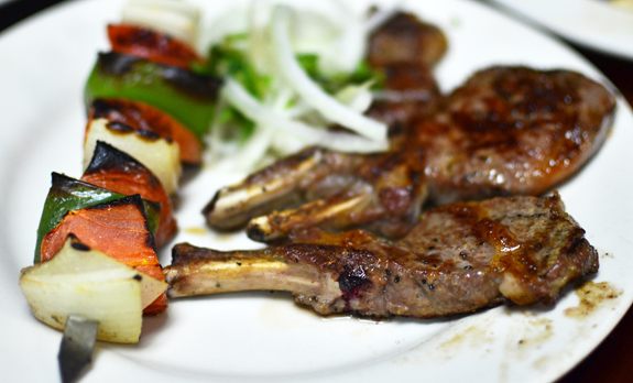 Uzbek Restaurant - Taam Tov - Lamb Chops