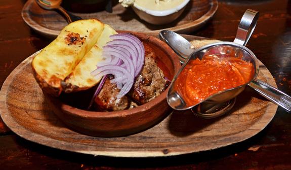 Georgian Cuisine - Oda House - Mtsvadi