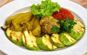 Moldovan Food - Cricova Winery - Vegetables