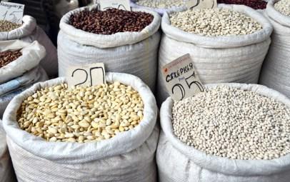 Chișinău Central Market - Beans