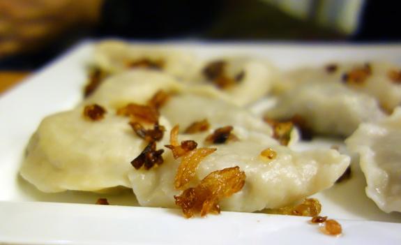 Yellow Bench Restaurant - Pierogi