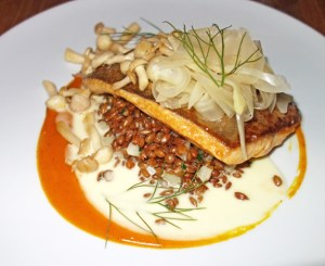 Les 400 Coups - Arctic Char, Rye, Fennel and Sea Buckthorn