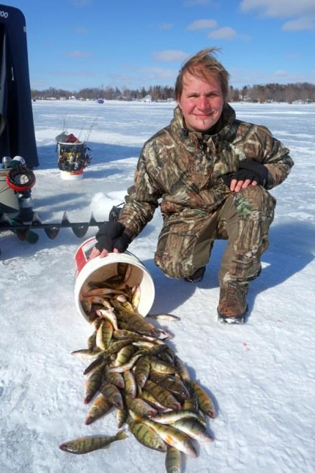 Lake Ontario - Ice Fishing - Yellow Perch