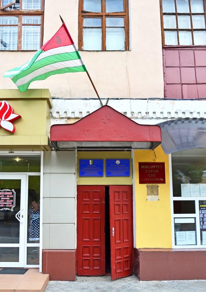 Transnistria - Tiraspol - Official Representation of Republics of Abkhazia and South Ossetia