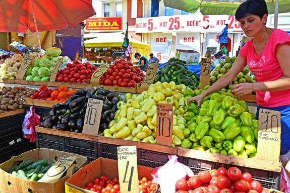 Privoz Market - Produce